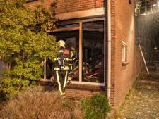 Buurtonderzoek na woningbrand in Wandelboslaan