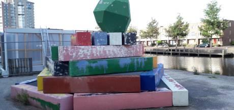 Kunstwerk Starting Point in Apeldoorn na vandalisme begin oktober weer hersteld