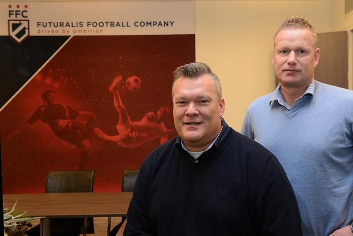 Roderik van Kerkhof en Johan Hansma bestieren adviesbureau Futuralis FC.