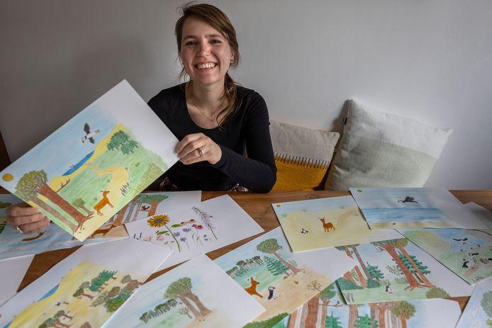 St Oedenrode ED2020-9281 *Maartje Bogaerts* schrijft kinderboek.