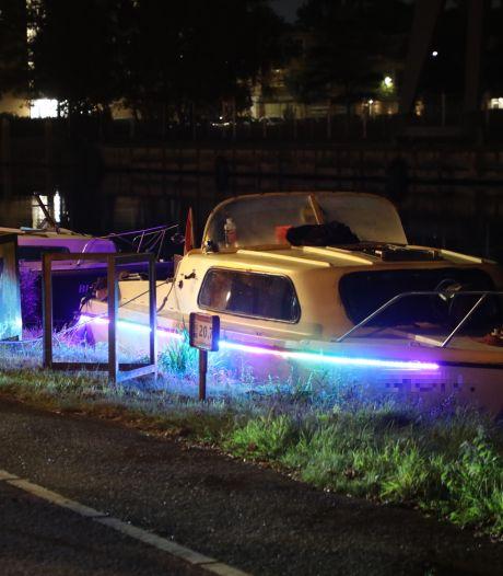 Gewonde door steekvlam in barbecue op bootje Leidschendam