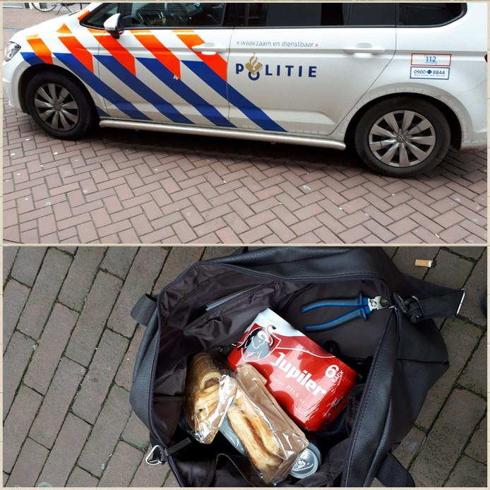De notoire winkeldief is aangehouden in Dordrecht.