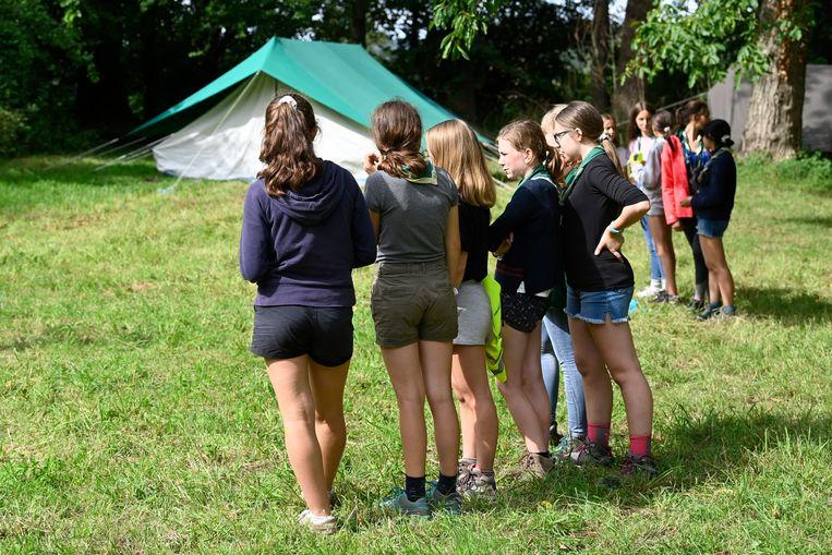 Vandenbroucke riep eerder al op tot het testen van jongeren voor ze op kamp vertrekken, omdat de besmettingscijfers vooral stijgen bij kinderen en jongeren. Beeld Photo News