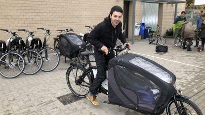 30 werknemers Zavo testen elektrische fietsen van provincie