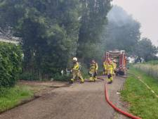 Schuur in Eibergen verwoest door brand