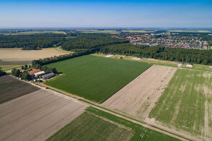 Aan de Bisonweg in Swifterbant hoopt de gemeente 680 woningen te bouwen.