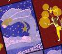 Kerstkaart van Myriam Keizer.