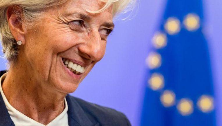 IMF-directeur Christine Lagarde. Beeld AP