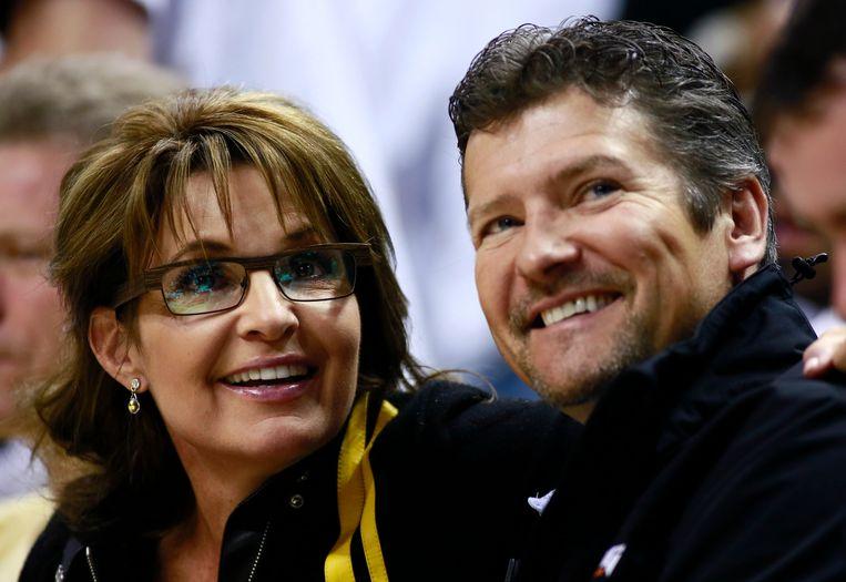 Sarah en Todd Palin in 2013.