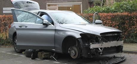 Auto van Vughtenaar voor de derde keer gestript
