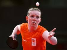 Britt Eerland na comeback verder in tafeltennistoernooi