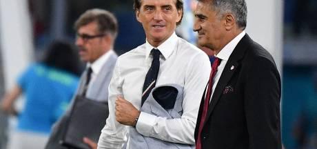 """L'Italie favorite? Il reste six matches..."", nuance Roberto Mancini"