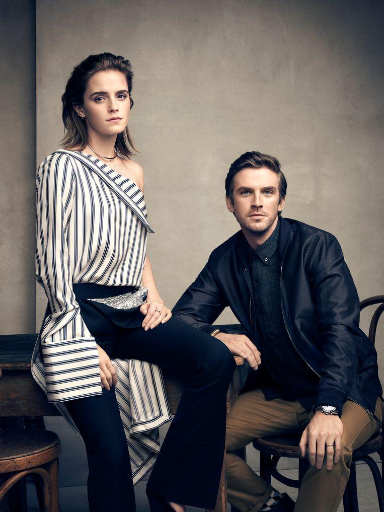 Emma Watson en Dan Stevens. Beeld rv Art Streiber