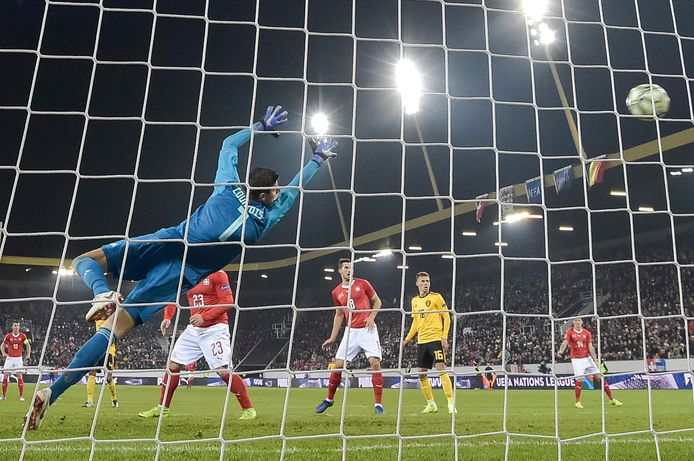 Eind 2018 verloor België met 5-2 in de Nations League in Zwitserland na drie goals van Seferovic.