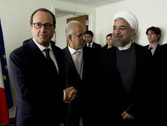 Iran en Frankrijk schrappen diplomatieke lunch omdat Hollande wijn bij eten wil