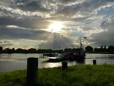Prachtige wolken boven IJssel