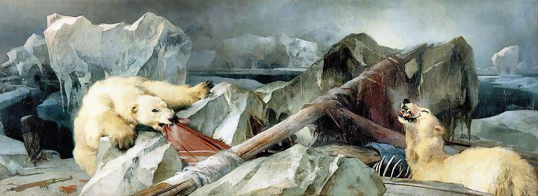 Edwin Landseer: Man Proposes, God Disposes (1864) Beeld Alamy