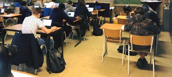 Leerlingen worden klaargestoomd om VCA-attest te behalen
