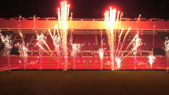 De dertiende editie van lichtfestival Glow wordt zaterdag om 18:30 uur geopend in het Philips Stadion