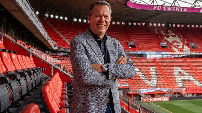 De nieuwe directeur van FC Twente: Jan-Willem Brüggenwirth.