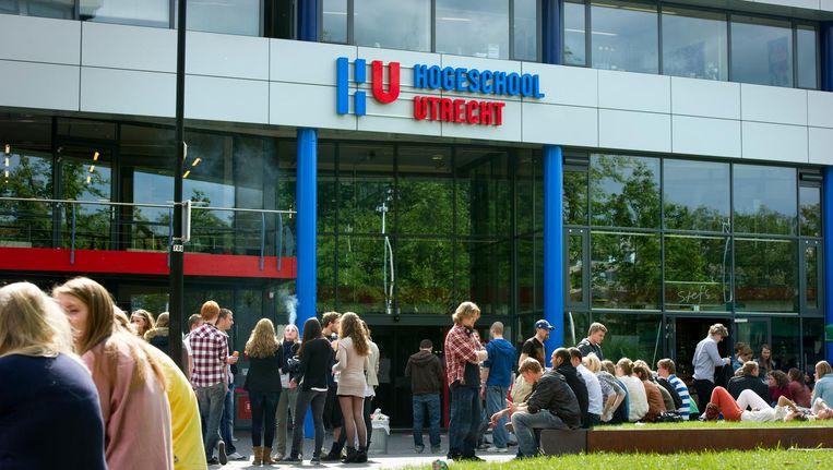 'Diplomagegevens missen van vrijwel iedereen die voor 1995 bij de Hogeschool Utrecht en voorlopers daarvan afstudeerde.' Beeld ANP/Frank van Beek