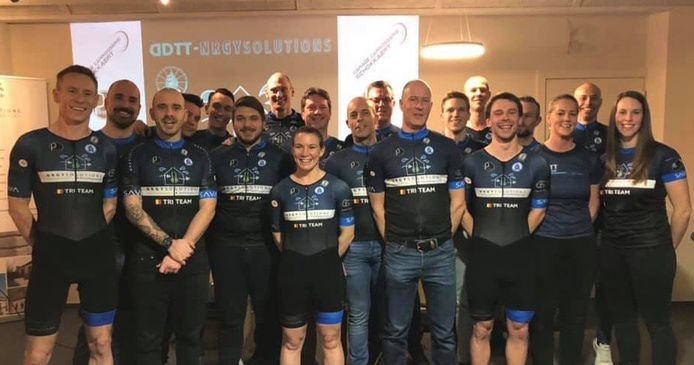 Triatlonteam DDTT-NRGY solutions uit Denderleeuw
