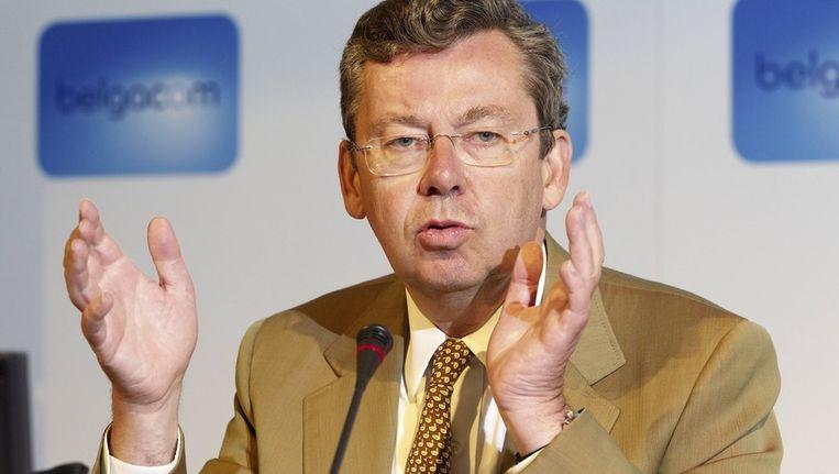 Belgacom-topman Didier Bellens. Beeld BELGA