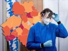 KAART | Hattem positieve uitschieter op coronakaart, aantal besmettingen in regio blijven gelijk