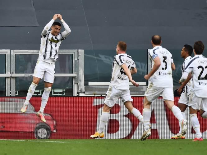Juve nog in running voor Champions League: Ronaldo wijst de weg met 777ste goal, Lukaku krikt straffe statistieken op