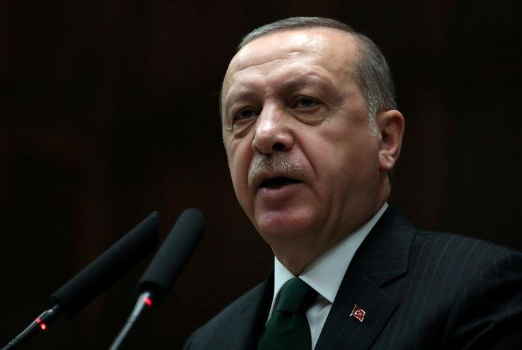 Turks president Recep Tayyip Erdogan.  Beeld Reuters