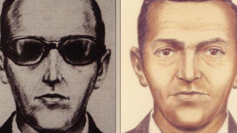Een FBI-tekening van kaper D.B.Cooper. Beeld reuters