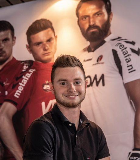 Sam Strijbosch van Nuenen houdt het voetballen even voor gezien