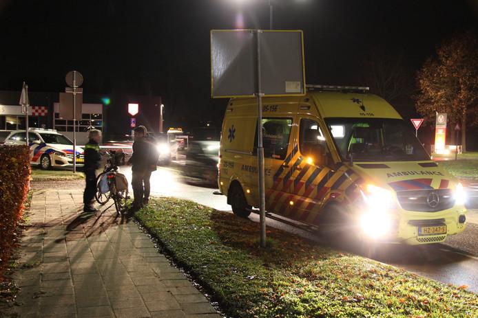 Bij een aanrijding op de kruising Reggesingel/De Stroekeld raakte maandag in de avondspits een jonge fietser gewond.