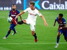 Zó kreeg Luuk de Jong zijn droomtransfer: naar bed als Sevilla-spits, opstaan als Barça-speler