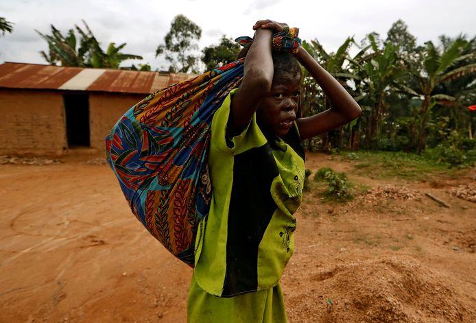 Oxfam voert in Congo onder meer projecten uit in verband met water- en sanitaire voorzieningen.