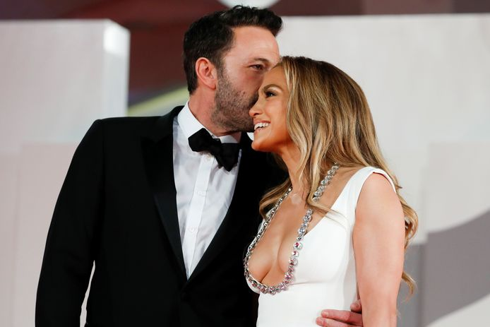 Ben en Jennifer konden niet van elkaar afblijven.