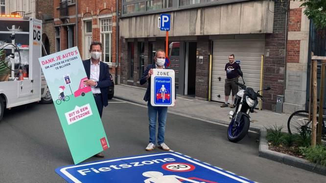 """Leuven wordt het walhalla voor fietsers: """"Samen met de voetgangers bepalen ze voortaan het ritme in drie vierde van de binnenstad"""""""