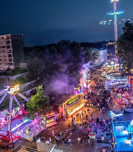Toch kermis in Tilburg, vanwege corona iets kleiner dan normaal: 'Circa 140 attracties op lint van drie kilometer'