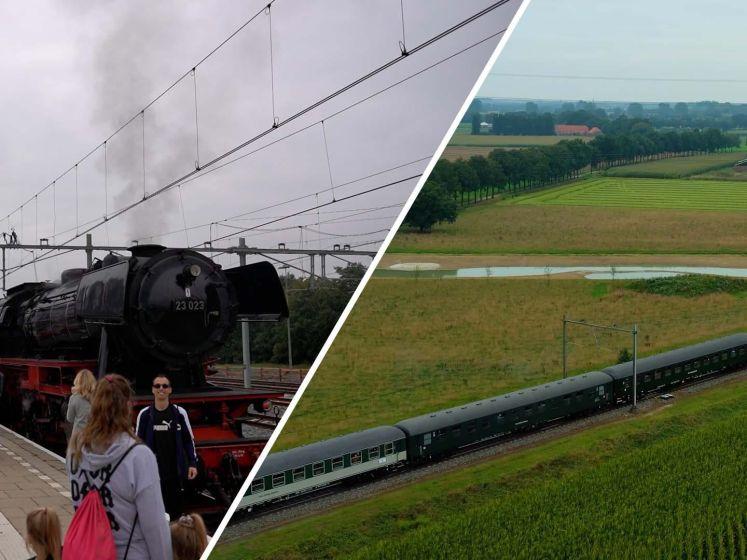 Grootste stoomtrein van Europa is voor even in Nijmegen