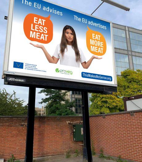 Brussel adviseert burgers vlees te minderen, terwijl  het óók vlees promoot: 'Dit slaat nergens op'