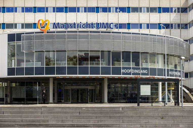 Het MUMC+. In het ziekenhuis overleden twee patiënten van de longafdeling na het uitvallen van de stroom aldaar. Een van de nabestaanden vraagt om een onafhankelijk onderzoek.  Beeld ANP