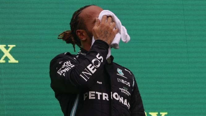 Hamilton meldt zich oververmoeid en duizelig bij dokter na GP Hongarije