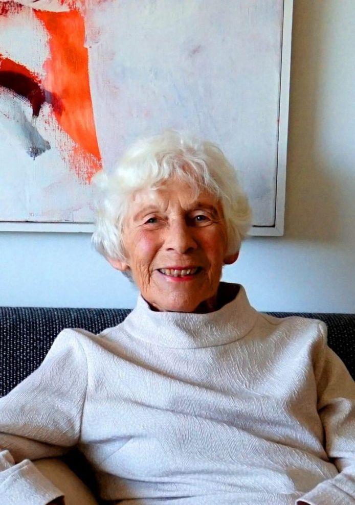 Mieke Eggermont-De Mast (1935-2021), oud-burgemeester van Haaren