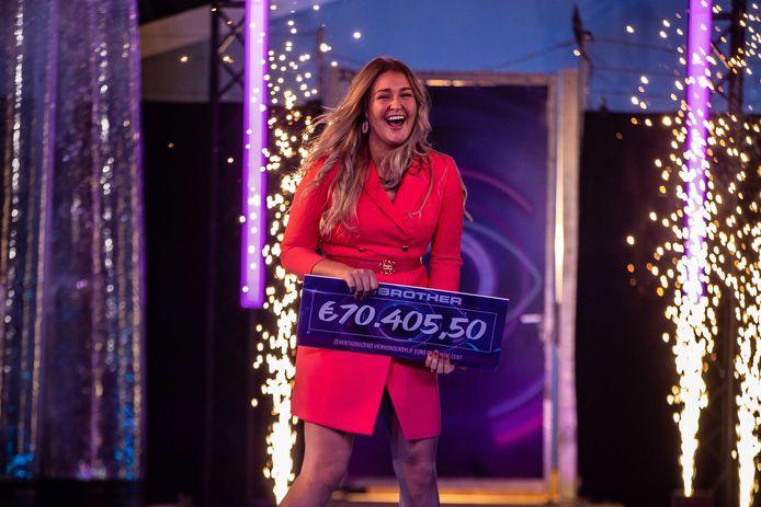 Jill is de winnaar van Big Brother 2021.
