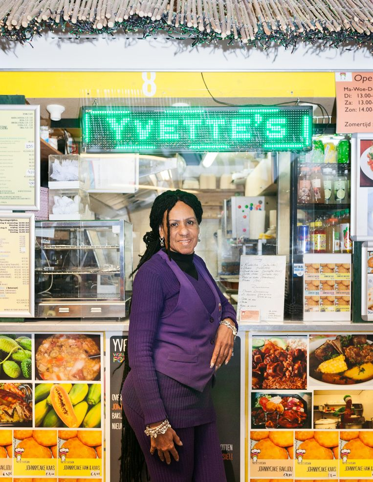 Yvette Dorsiel van Yvette's Kitchen. Beeld Nina Schollaardt