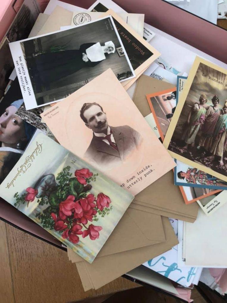 Enkele postkaartjes van Anneleen.