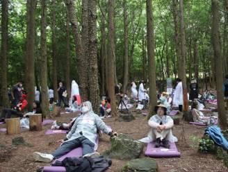Om ter hardst relaxen? In Zuid-Korea is het een ding