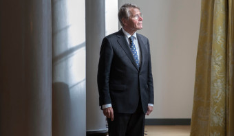 Piet Hein Donner neemt afscheid: 'Zonder samenwerking verzuipen we'