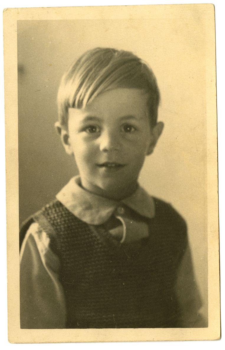 Bram van der Vlugt, circa 6 jaar.  Beeld Eigen archief