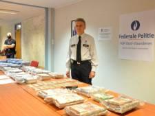 37 kilos de cocaïne et 2,7 millions d'euros cash saisis dans le port de Gand